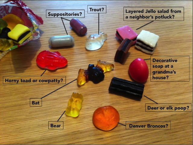 Contents of Haribo Colorado Mix