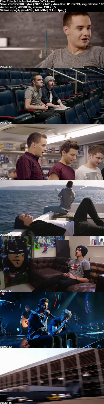 One Direction: This is Us (2013) [DVDRip] [Español Latino] (peliculas hd )