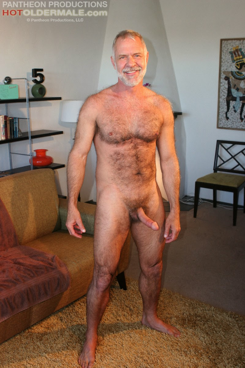 guys in gay porn sexy daddy allen silver jerks off at hot older