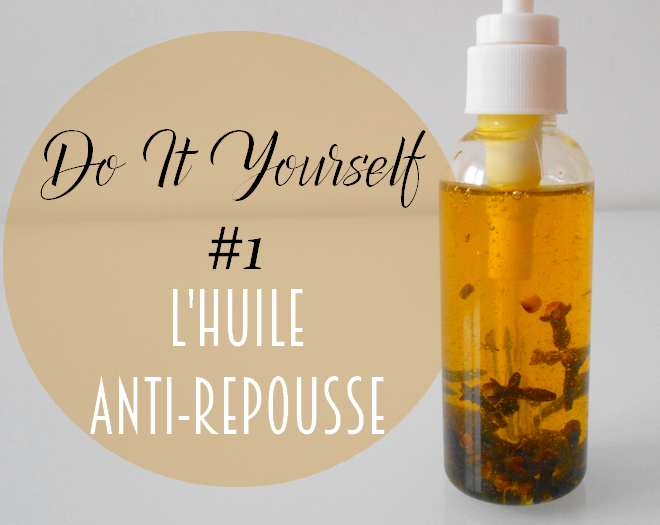 diy poils repousse anti