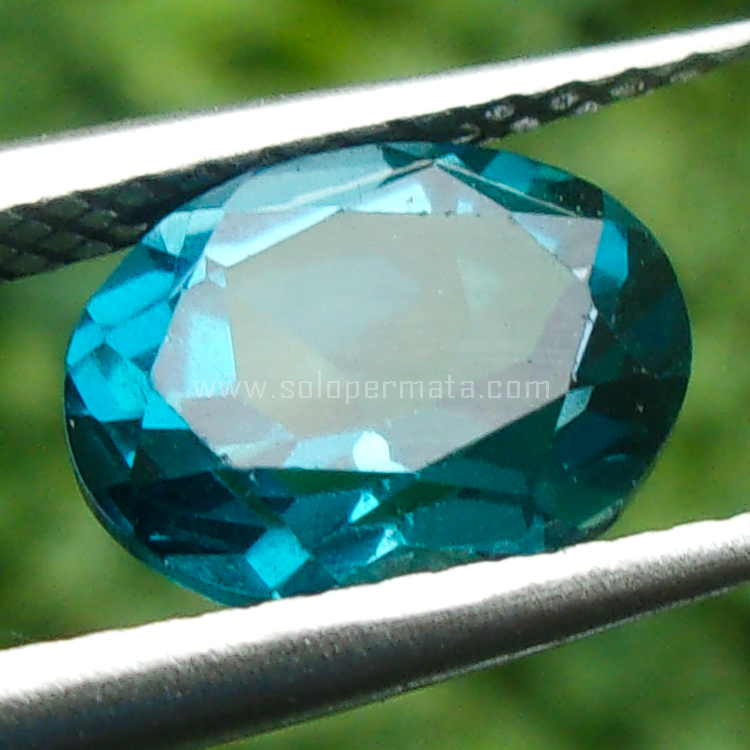 Batu Permata London Blue Topaz - SP812