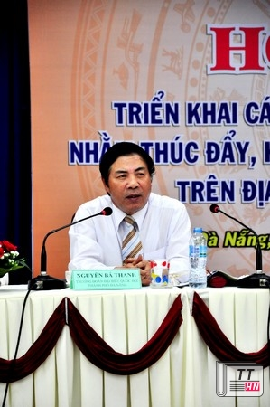 Trng Ban Ni chnh Trung ng Nguyn B Thanh ti hi ngh