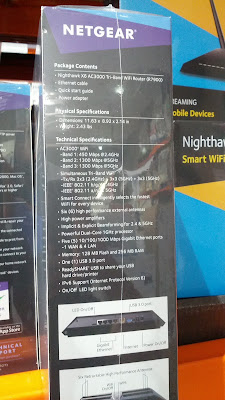 Ensure you have super fast wifi with the Netgear Nighthawk X6 AC3000 Wifi Router