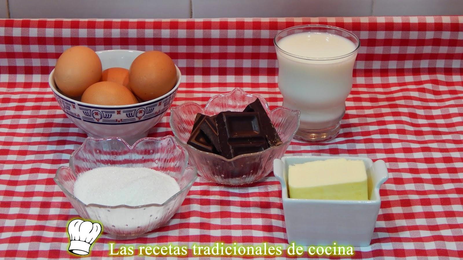 Receta fácil y rápida de mousse de chocolate