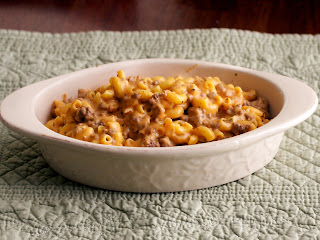 Hamburger+Helper Cheesy Hamburger Skillet