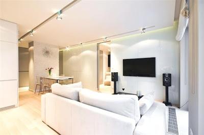 Desain Interior Minimalis Serba Putih 10