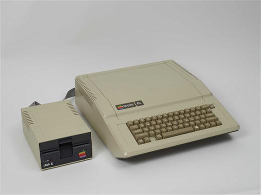 Apple Computer 1990 Apple //e Computer 1983-1984