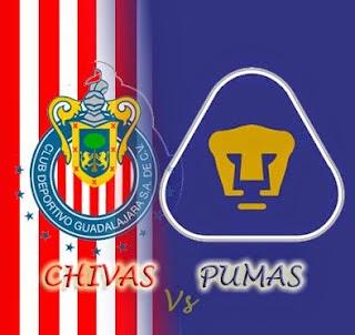 Previa Chivas vs Pumas futbol mexicano jornada 2