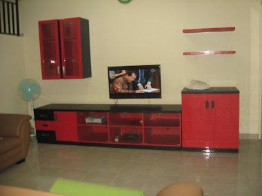 Meja TV mbak Yanti Cinere