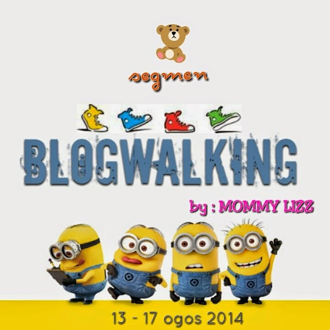 SEGMEN BLOGWALKING BY MOMMYLIZZ