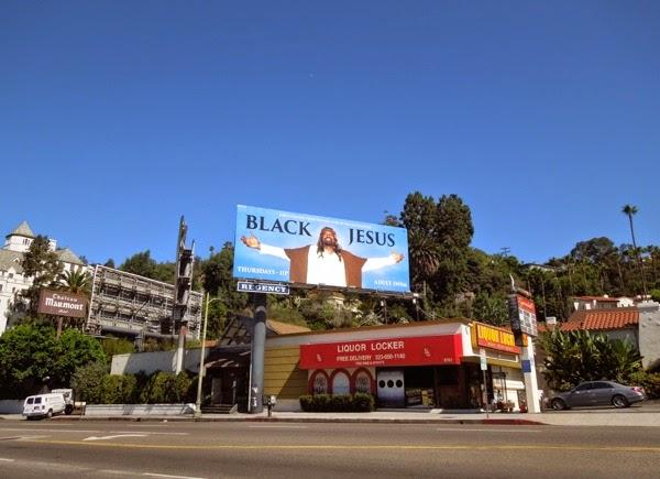 Black Jesus Adult Swim billboard