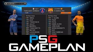 PES 2013 - Game Plan / Formation / Tactics / Marking settings etc