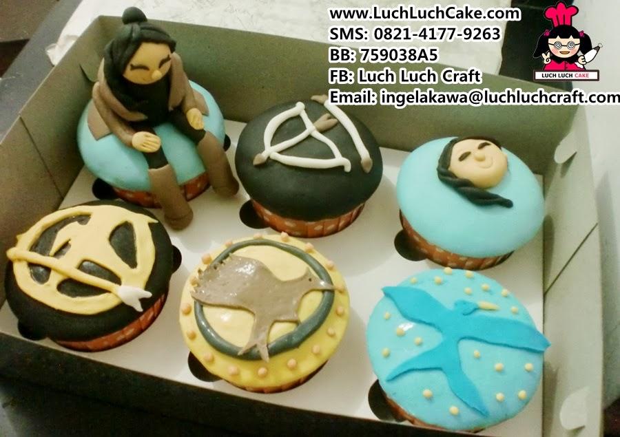 Cupcake The Hunger Games Daerah Surabaya - Sidoarjo