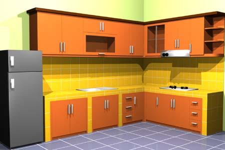 Desain Dapur Rumah | Desain Dapur Minimalis Modern Idaman ...