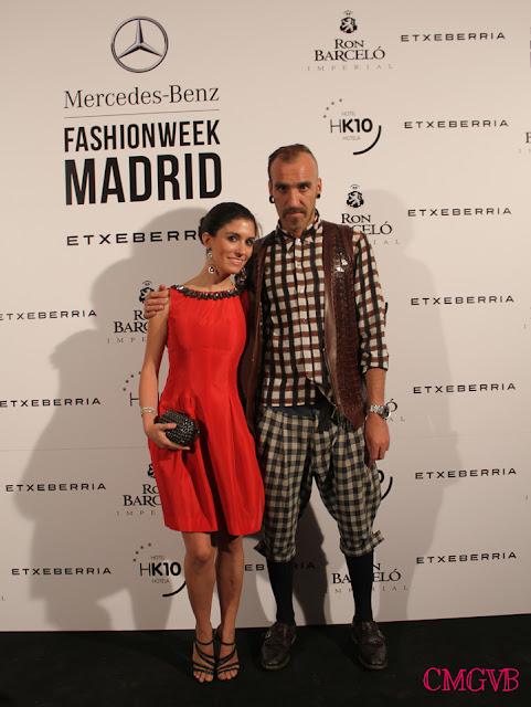 cmgvb, como me gusta vivir bien, Etxeberria, la piel del sur, piel, mercesdes benz fashion week, Ron Barcelo, jewel dress, vestido joya