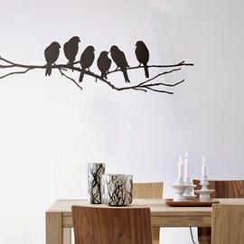 Decoración Accesorios de Metal, Aves