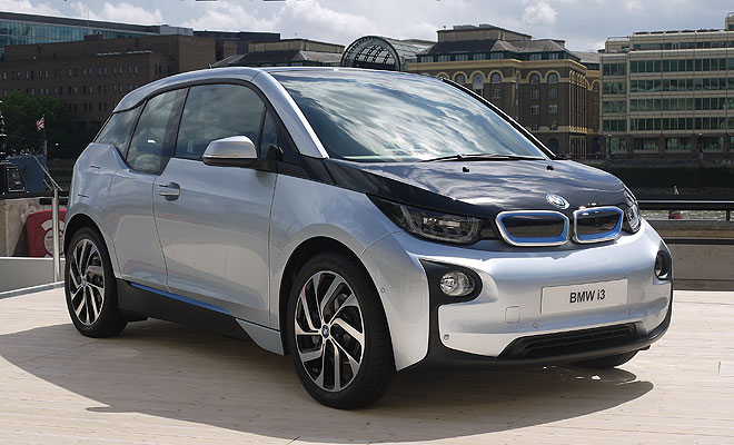 BMW i3 debut - front view silver