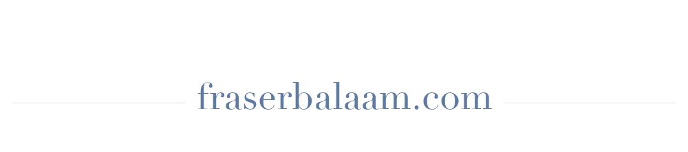 fraserbalaam.com