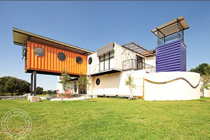 Shipping Container Home Africa 700 x 468