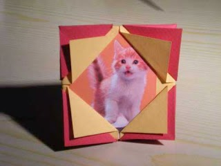 How to Make Origami Photo Frames