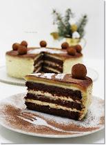 Karácsonyi torták, krémes sütemények