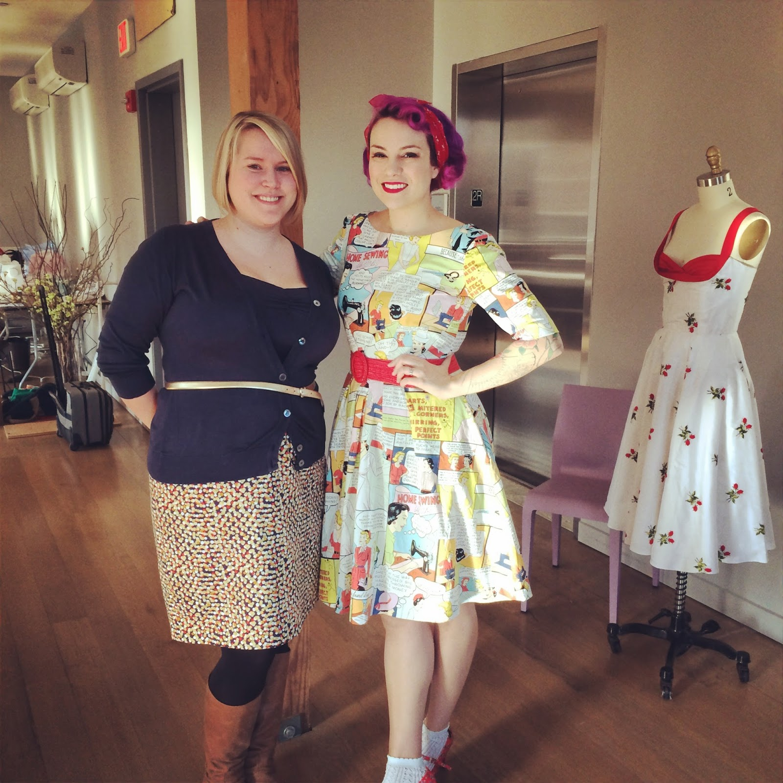 Gertie's sewing retreat 2014!