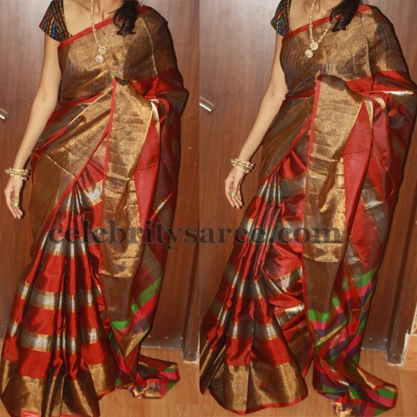 Latest Tissue Uppada Sarees