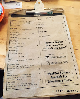 Menu, Go Getter Cafe, Bukit Jalil, Food in KL