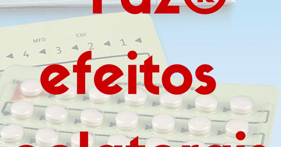 Efeitos colaterais da pilula anticoncepcional yaz