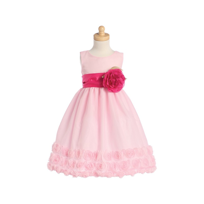 Excepcional Dama De Honor Vestidos De Las Niñas Componente - Ideas ...