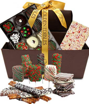 ULTIMATE CHRISTMAS TREAT GIFT BASKET
