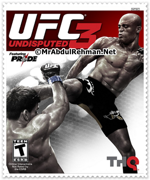 UFC Undisputed 3 PC Game Free Download Full Version