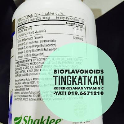 Bioflavonoid Vitamin C Shaklee