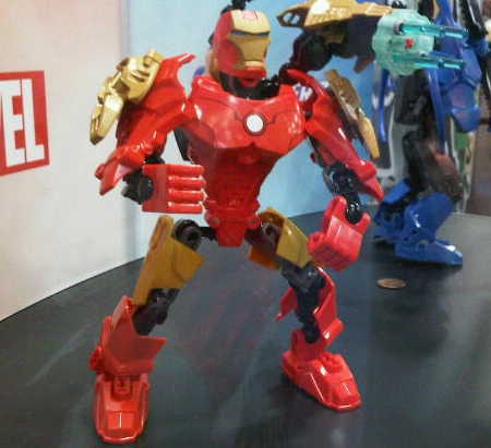 News lego s dc and marvel toys at sdcc