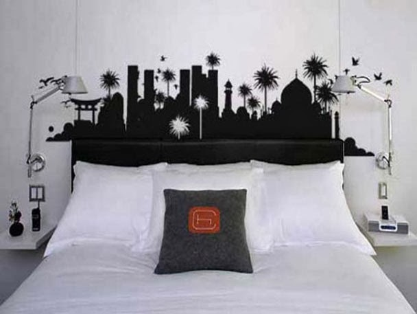 Wallpapers: Creative Wall Painting Ideas Bedroom