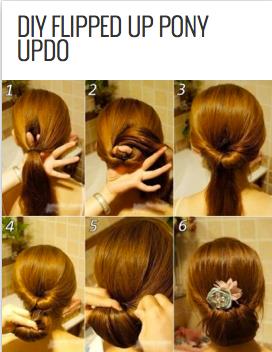 http://www.stylishboard.com/diy-flipped-up-pony-updo/