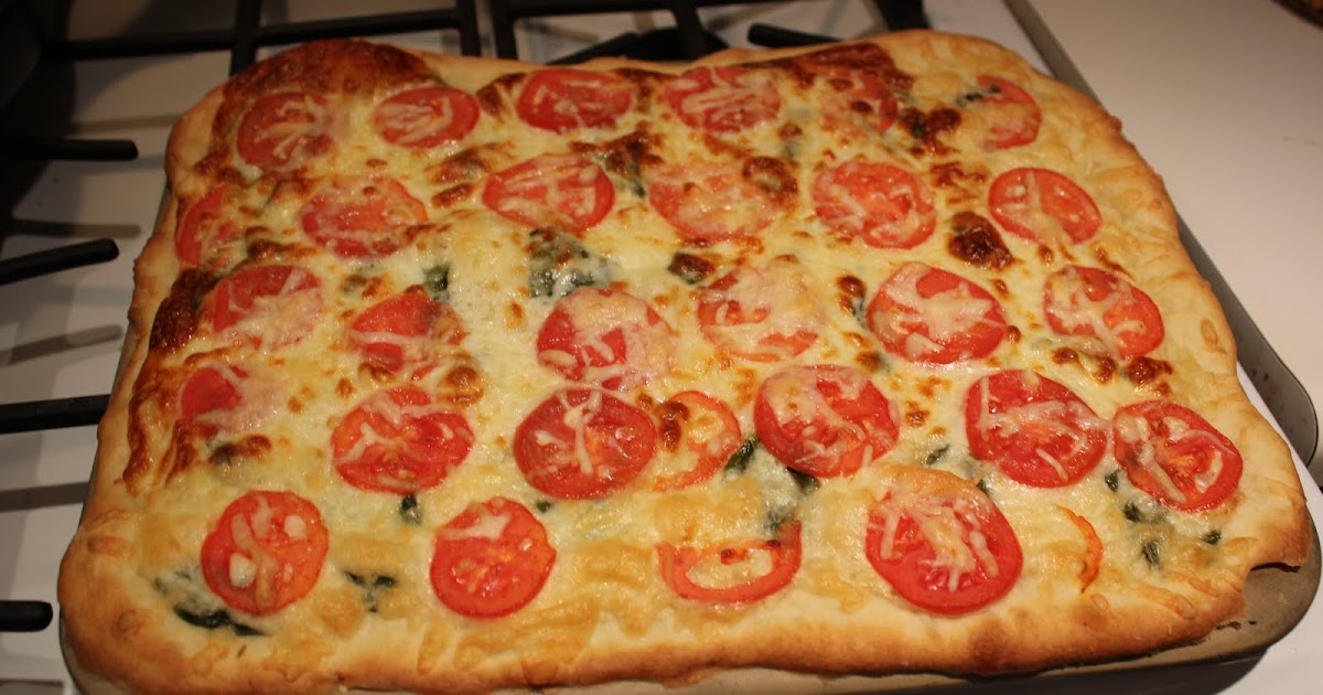 Near to Nothing: Tomato Basil Pizza