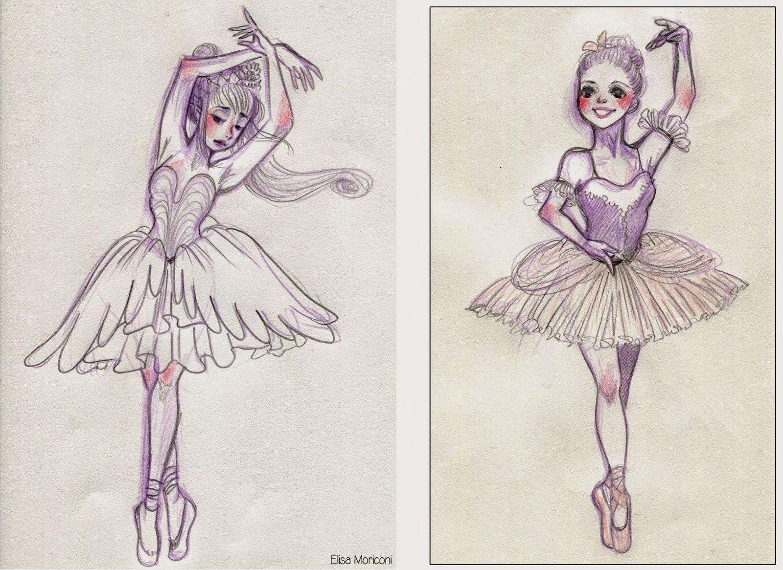 Vita Da Illustratore Ballerina
