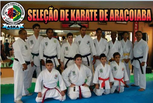 Conheça a seleção de karatê de Aracoiaba