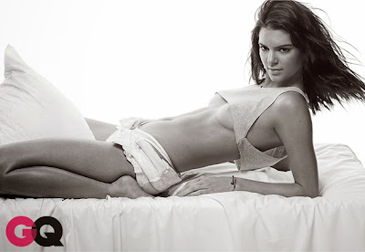 Kendall Jenner topless GQ magazine May 2015 photoshoot