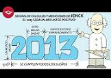 Las vietas de este blog ilustran el calendario 2013 de la empresa Jenck S.A.