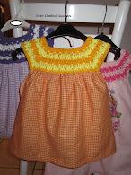 Anleitung: Kleid mit Häkelpasse