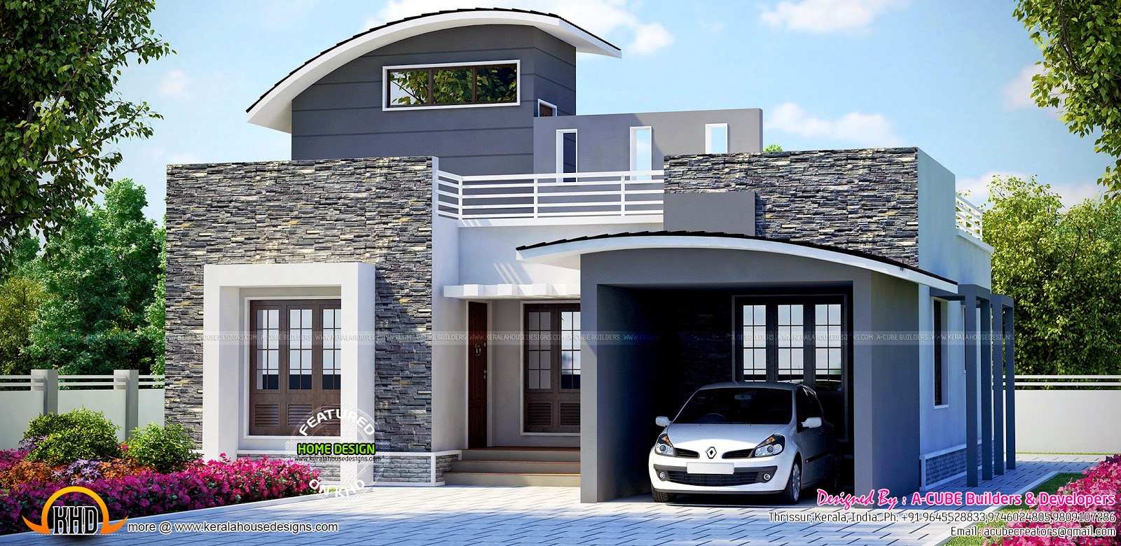 modern single floor home facilities in this house - Modern House Designs Single Floor