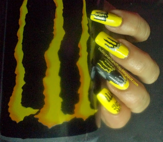 simple nails 1774 monster energy
