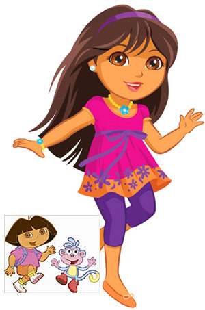 Dora the explorer new look