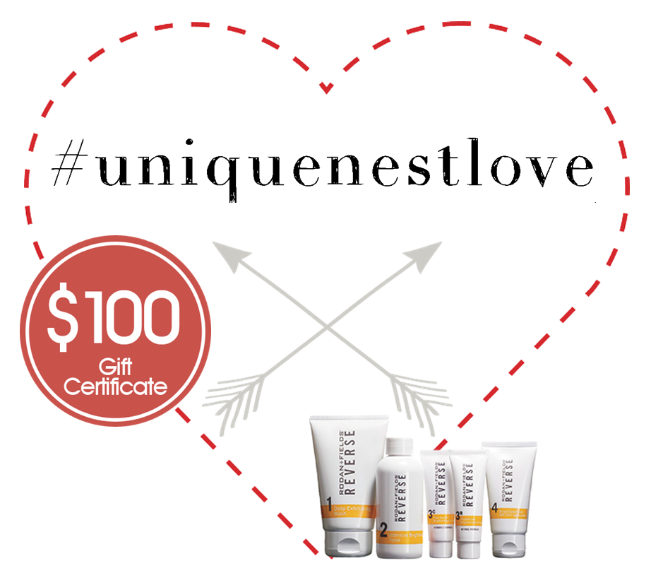 $100 Rodan + Fields Gift Card GIVEAWAY - The Unique Nest