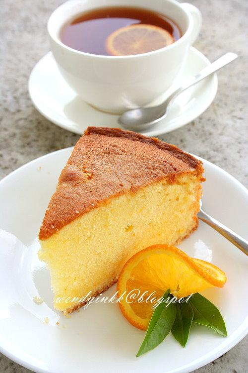 Table for 2.... or more: Orange Pound Cake - Orange Week #1