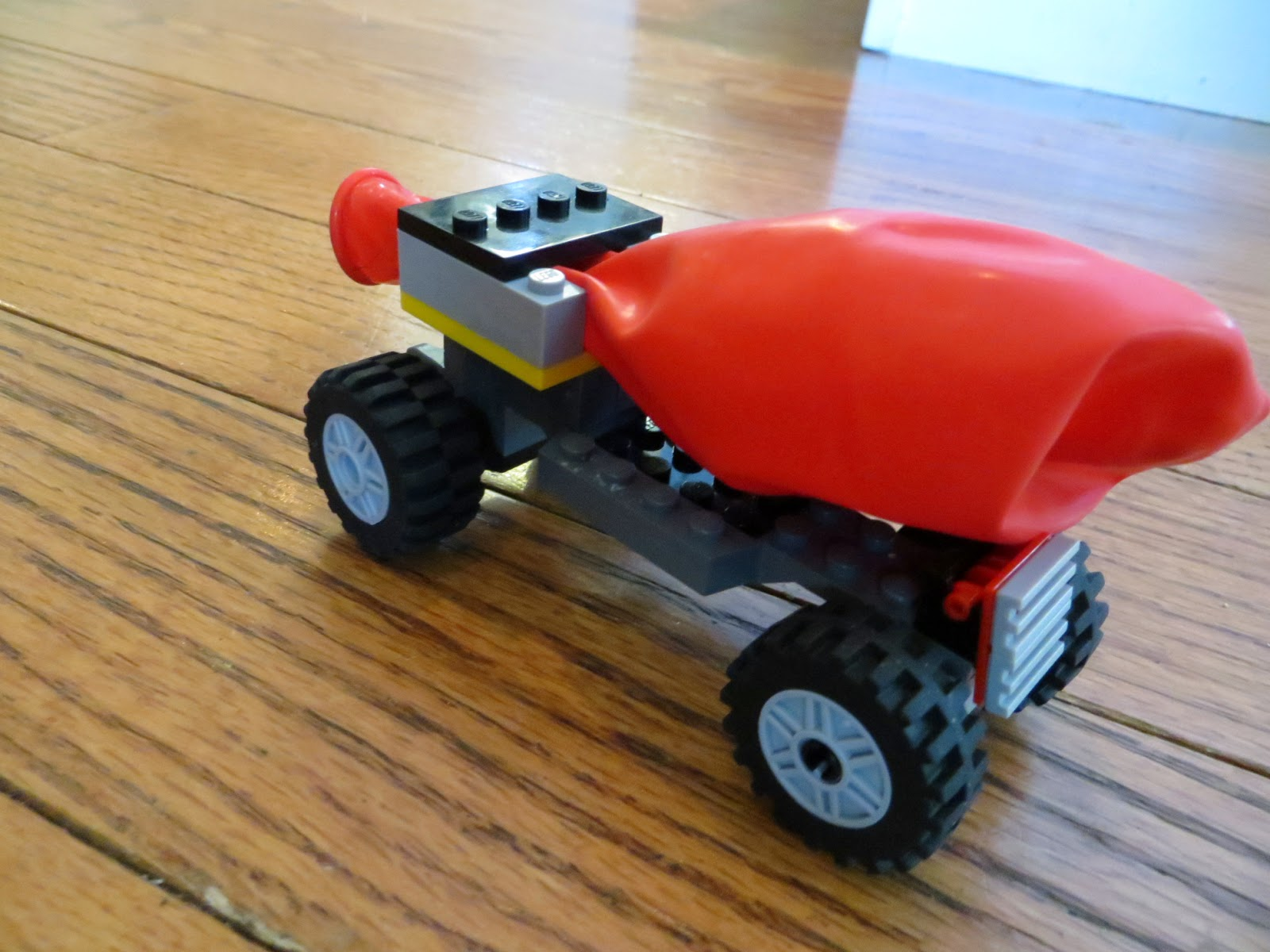 balloon car science project
