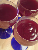 cara bikin puding anggur