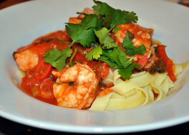 A great tasting seafood marinara recipe